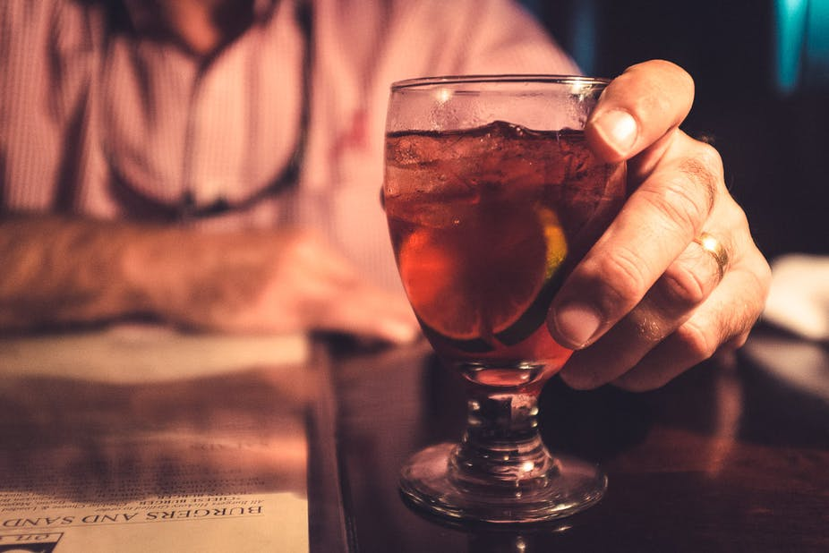 Think before you drink: alcohol's calories end up on your