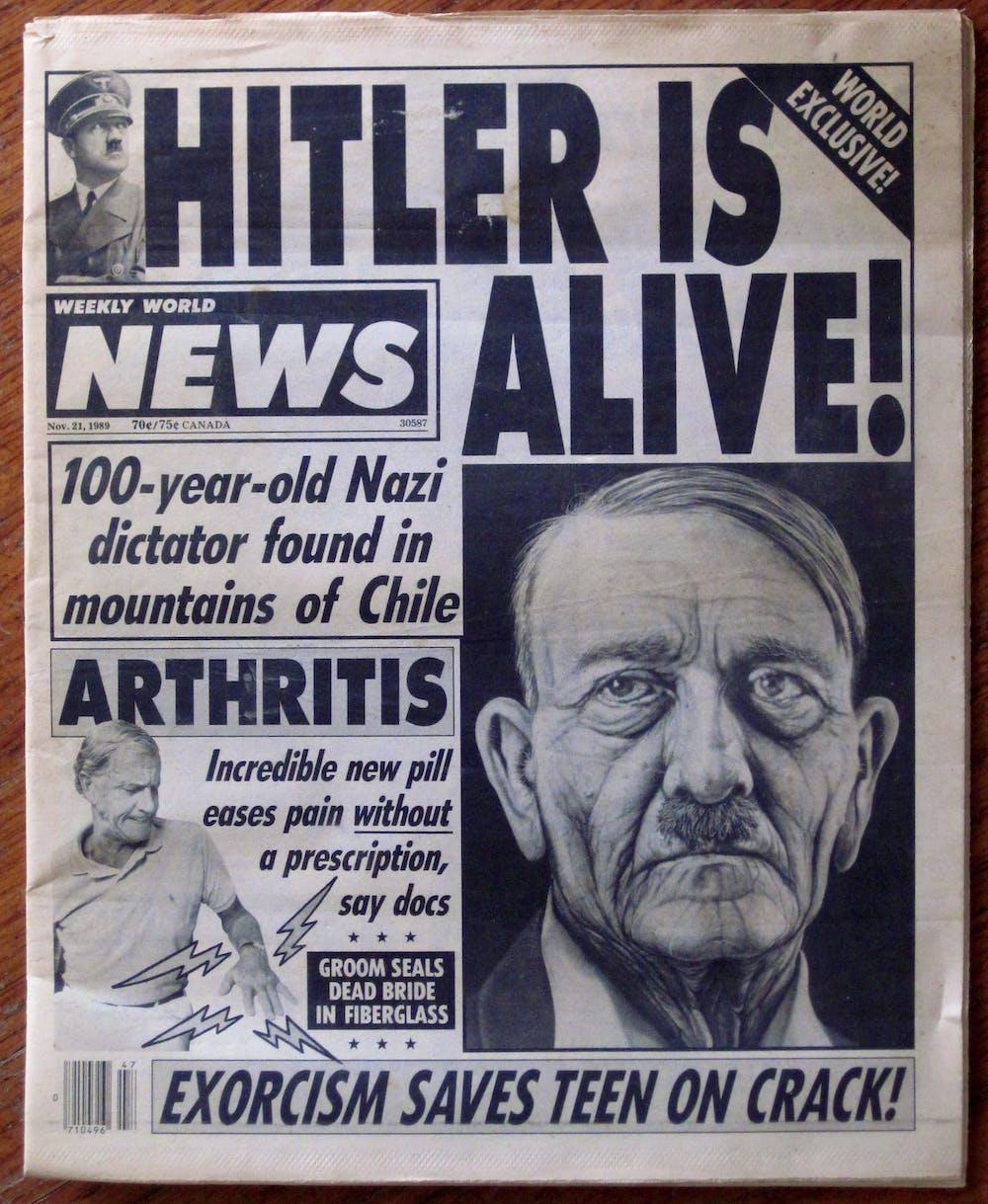 Was Hitler alive?