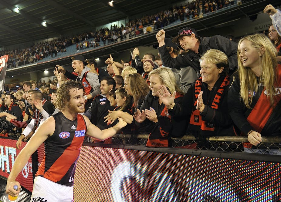 1106d84b Female fans are AFL's secret weapon in drawing crowds