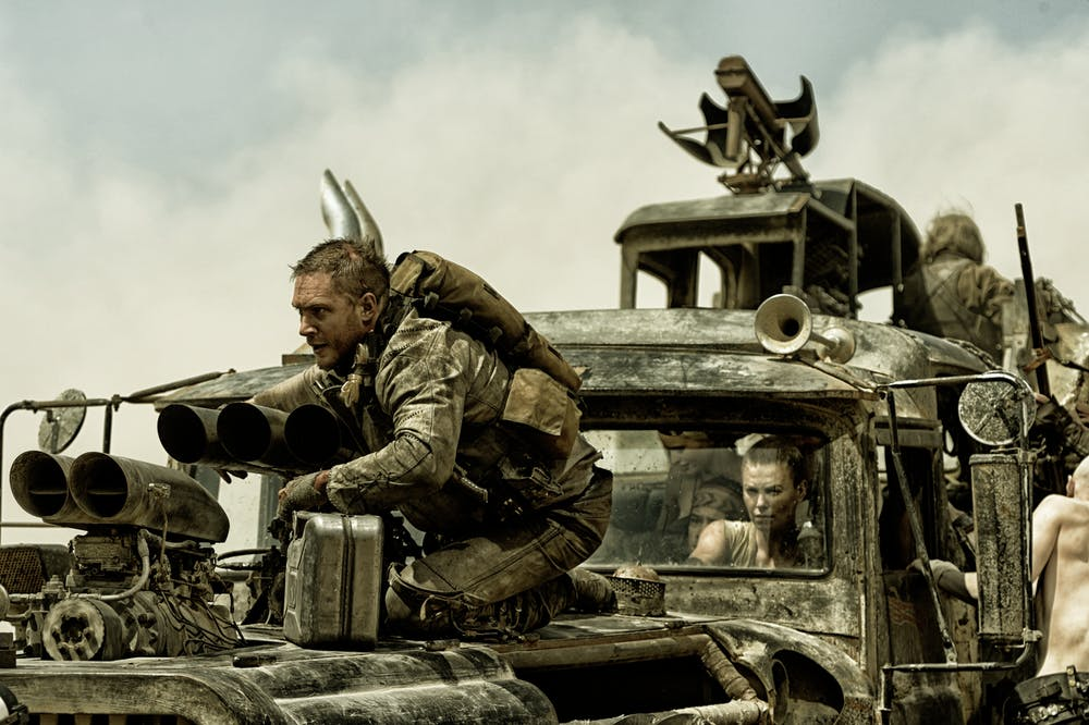 how mad max wrote the script for the action blockbuster