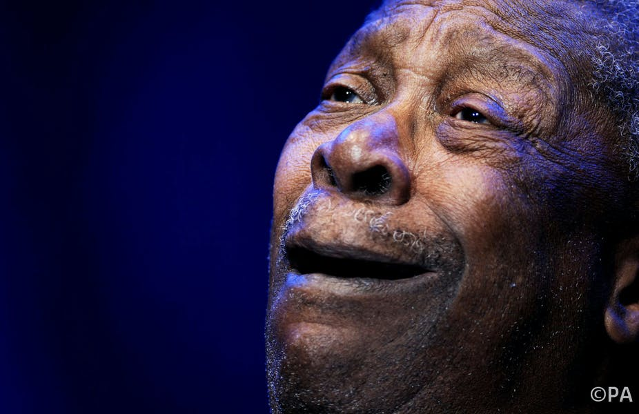 BB King was great because he played 'out of tune'