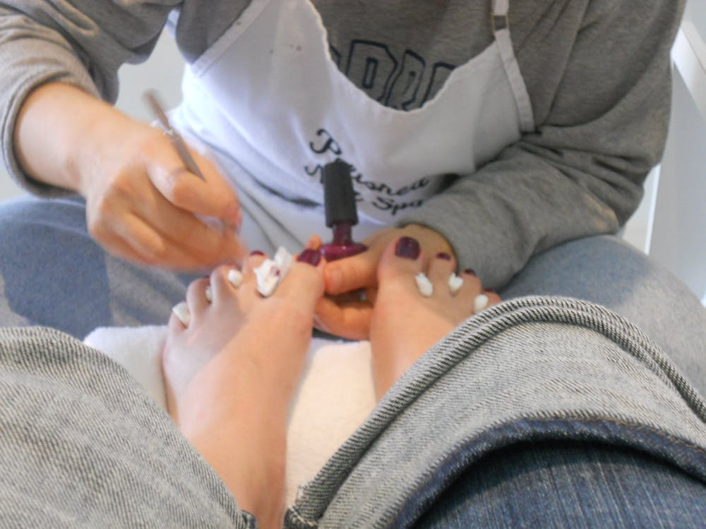 Health risks beneath the painted beauty in America\'s nail salons