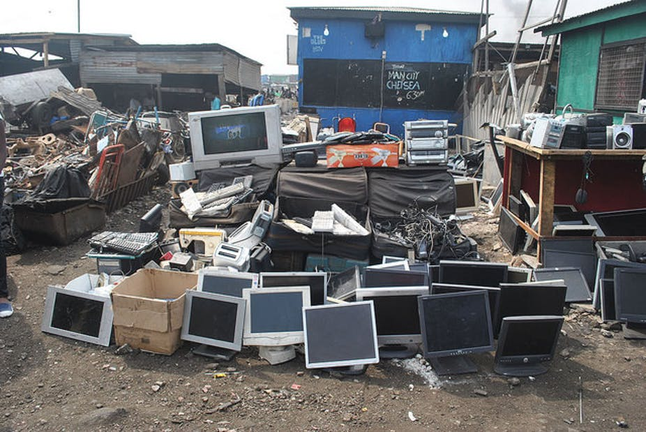 Beyond recycling: solving e-waste problems must include