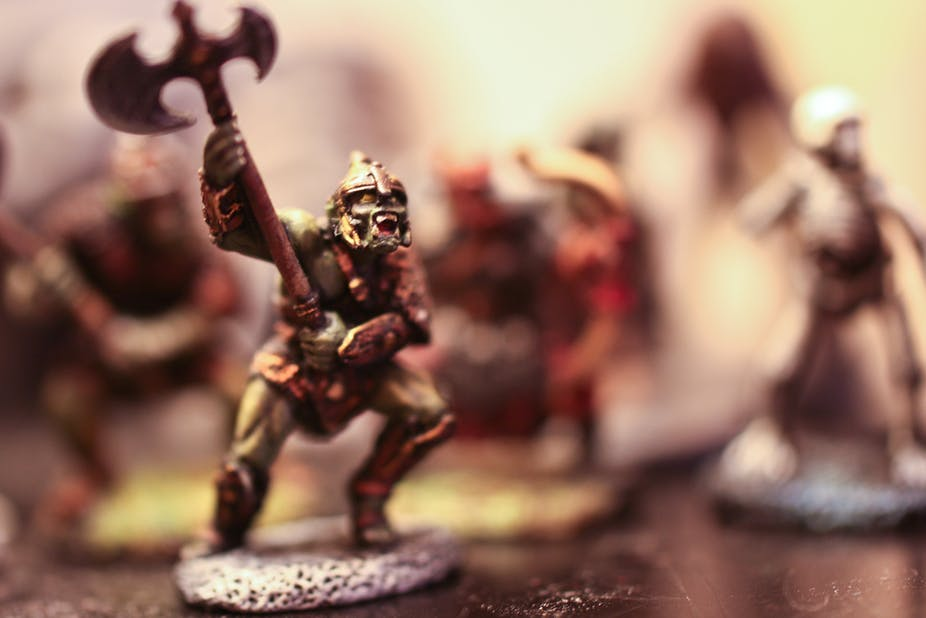 Rival fantasies: Dungeons & Dragons players and their