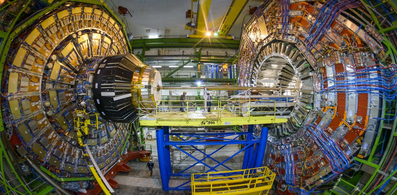 Explainer How Does An Experiment At The Large Hadron