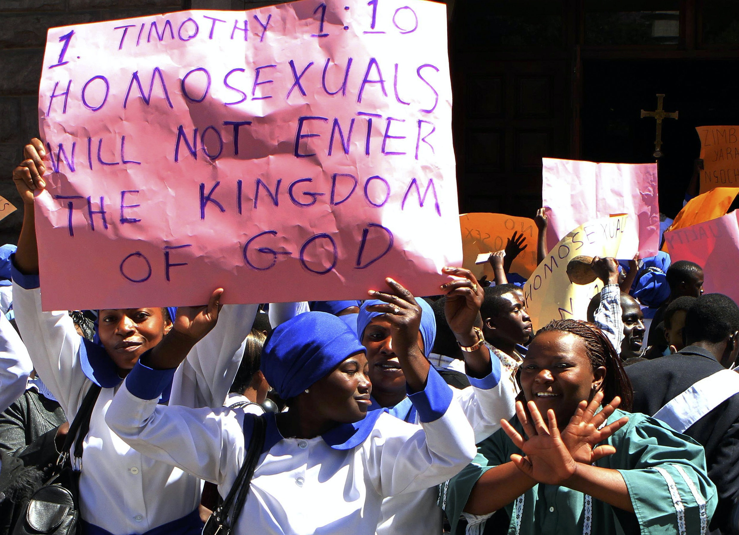 Criminalise homosexuality in christianity