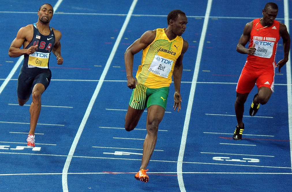 The maths behind the fastest person on Earth (and no it's
