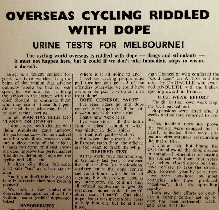 The Australian Cyclist, Sep 1967