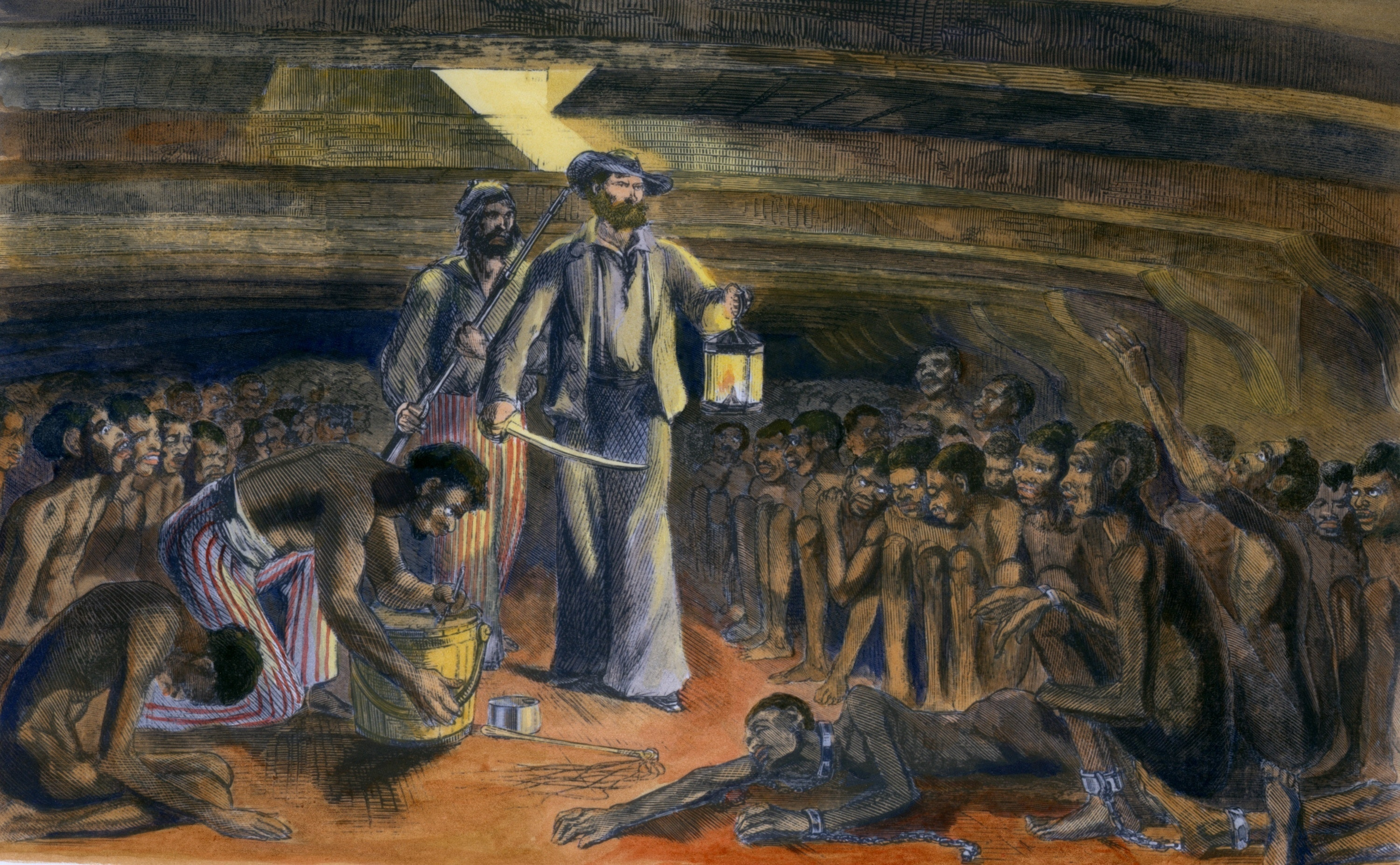 the horrors of a slave Smart news keeping you current the horrors of the 'great slave auction' the largest sale of enslaved people ever to take place in the us tore families apart.