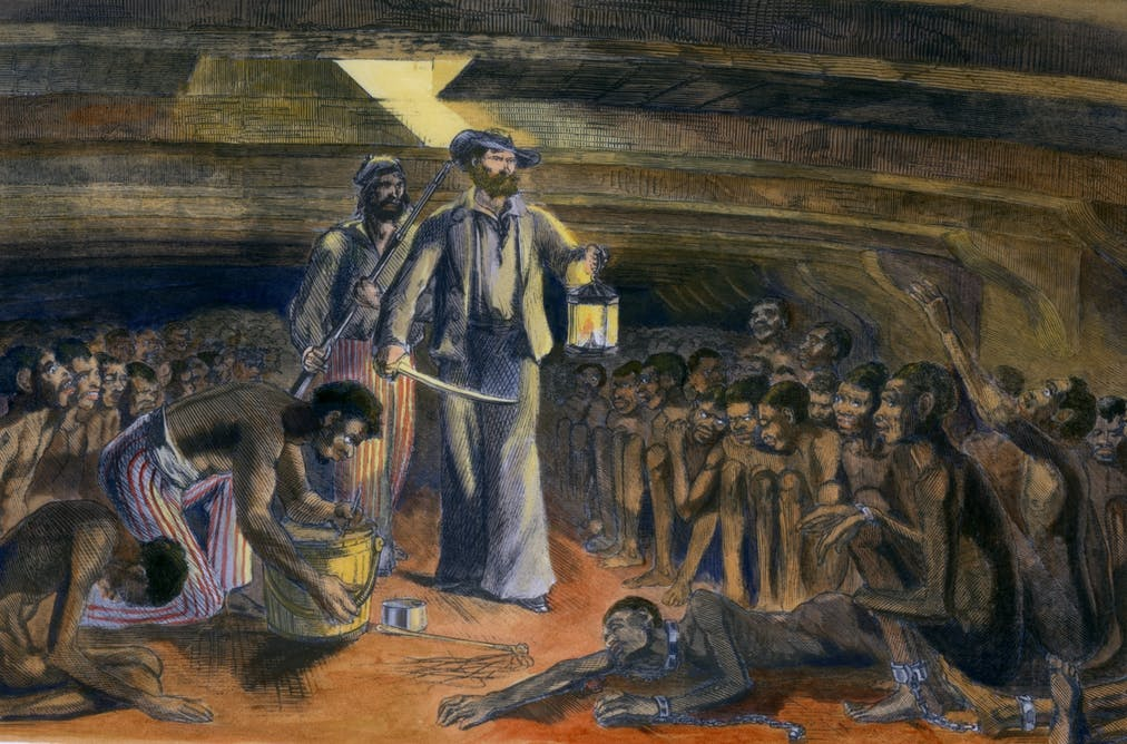 The Real Horrors Of The Transatlantic Slave Trade Behind -3210