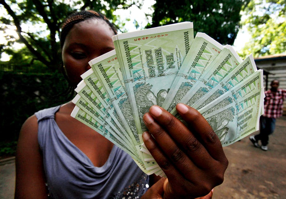 Zimbabwe Ditches Its Dollar Ending An