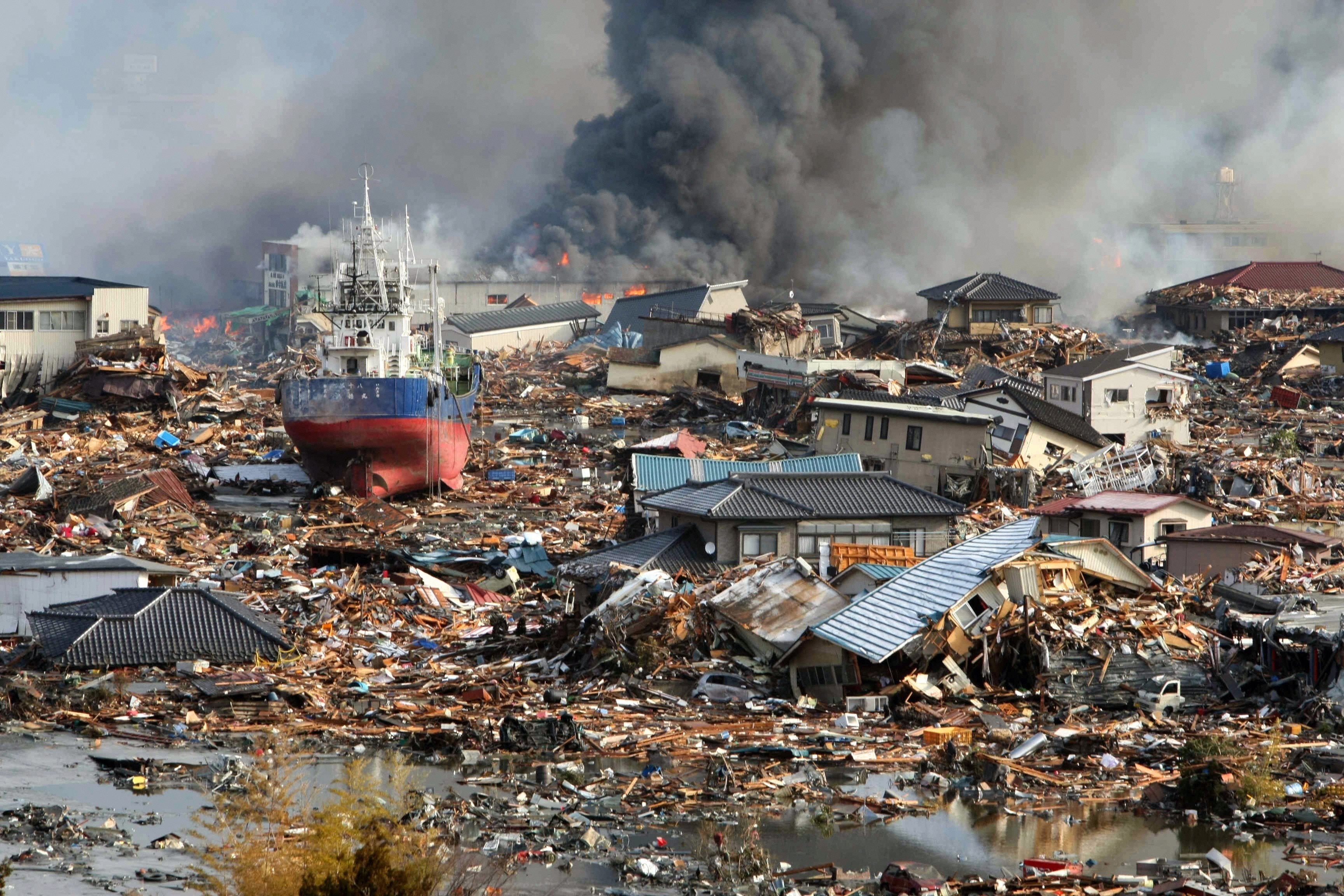 The morning after Japan was struck by the most powerful earthquake to hit the island nation in recorded history and the tsunami it unleashed and even as