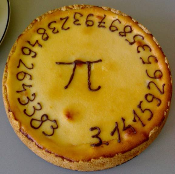 rational kuchen test, are pi's days numbered?, Design ideen