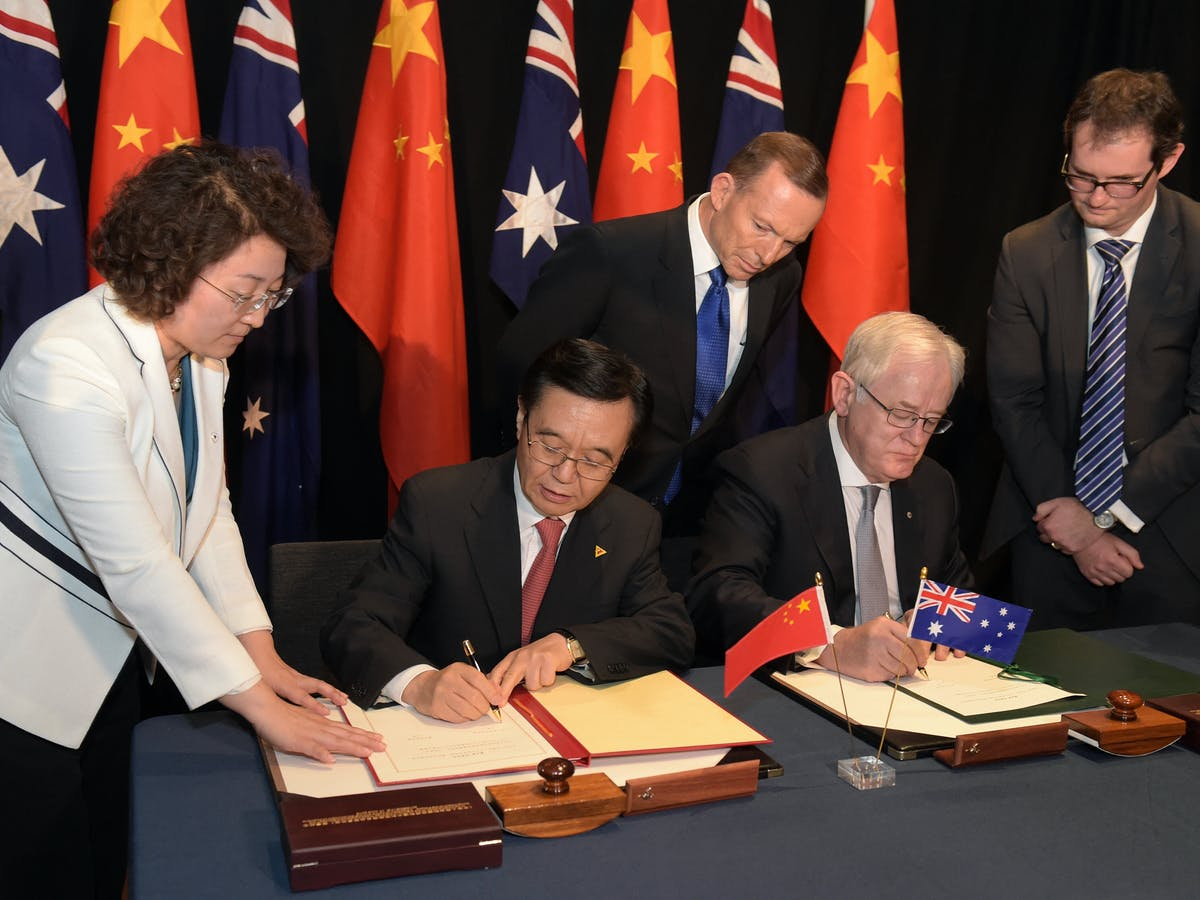 australia free trade agreement with china advantages and disadvantages