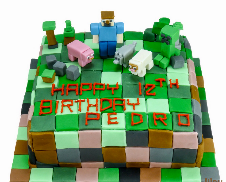 100 minecraft steve cake death of a birthday cake u2013