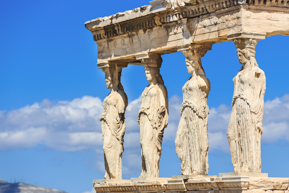 Ancient Greece makes a comeback (as modern one mired in crisis)