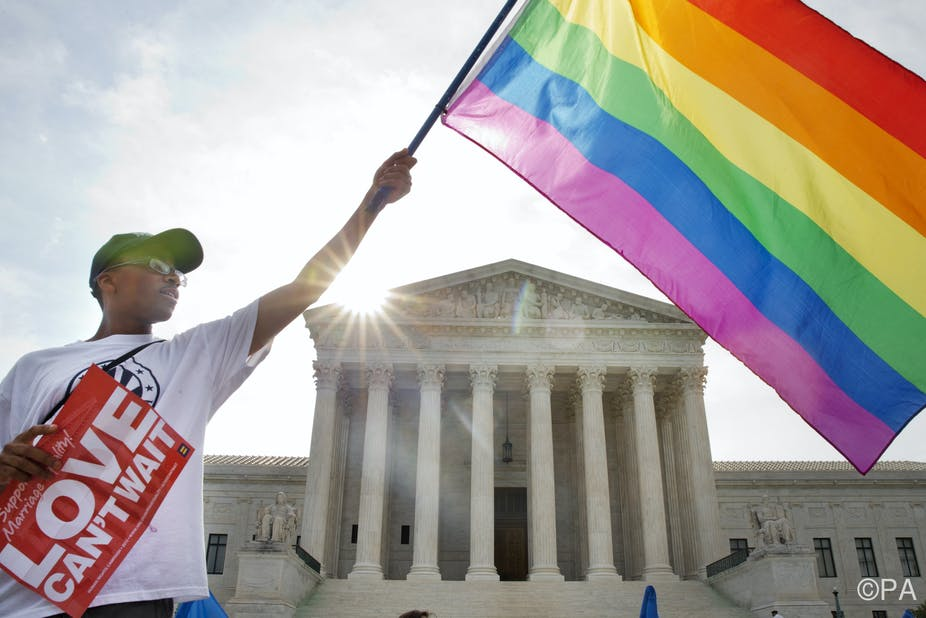 cases involving gay marriage