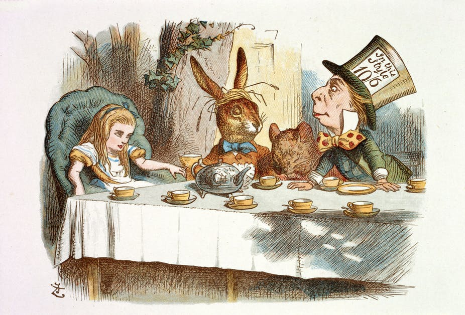 After 150 years, we still haven't solved the puzzle of Alice in Wonderland