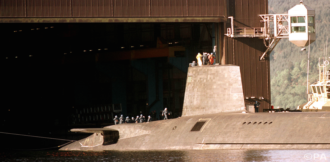 the nuclear deterrent Since 1969 the united kingdom has always had at least one ballistic-missile submarine on patrol, giving it a nuclear deterrent that is, what the defence council.
