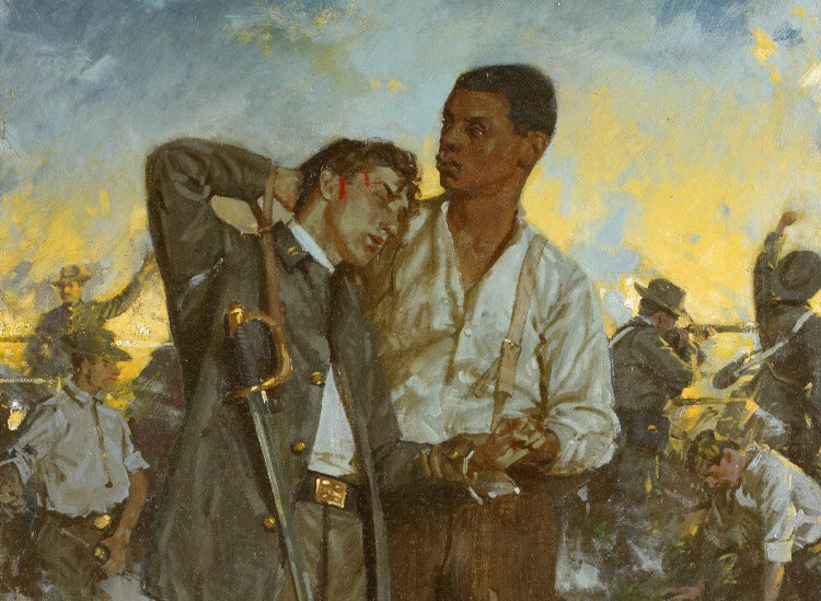 Exploring How Black And White Artists Depict Race