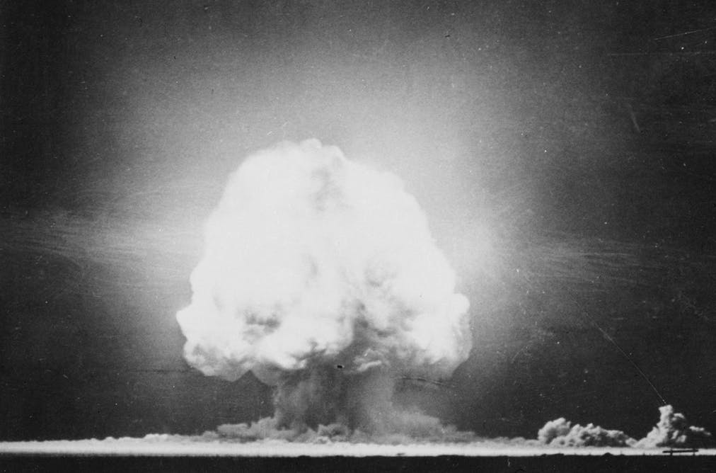 Blowing up the desert – and people's minds: the first atom bomb test in  1945. US Government
