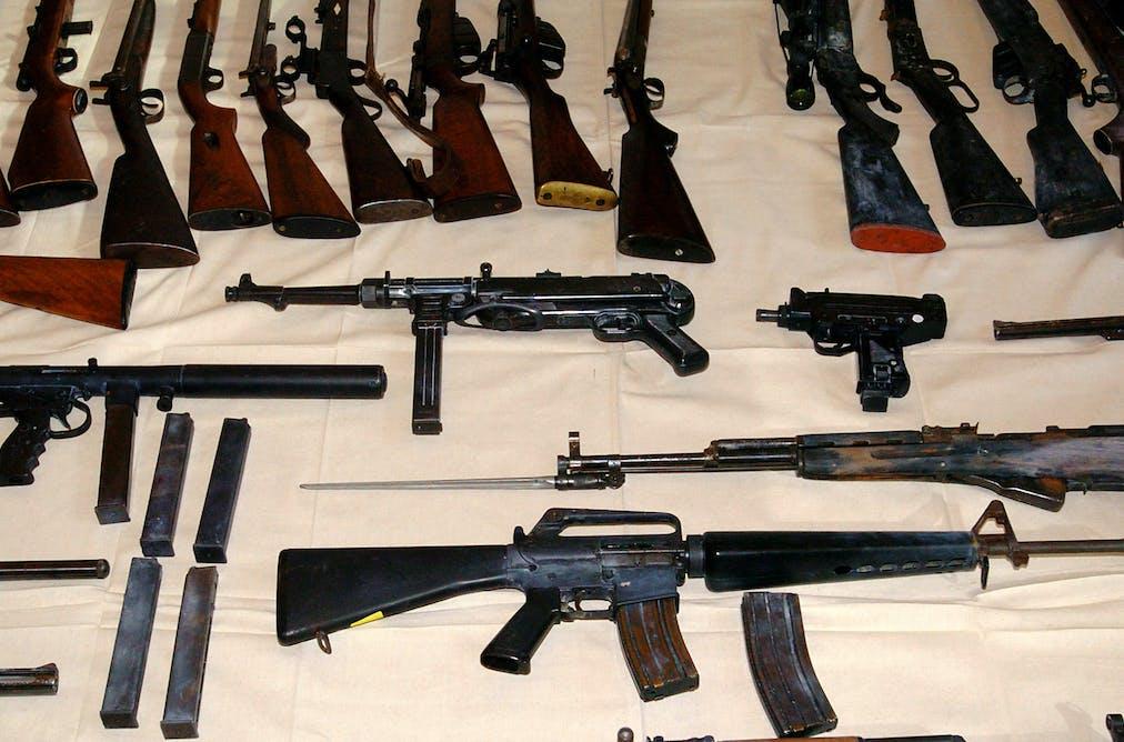 handguns should not be banned