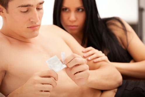 How to get more men using condoms – put the pleasure back into sex