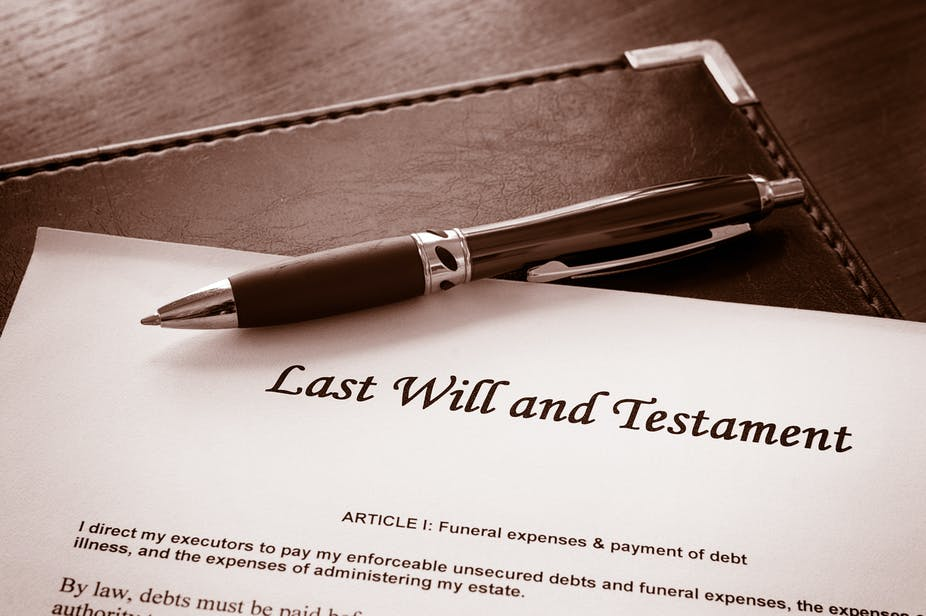 after the case of the disinherited daughter is a will worth the  sign on the dotted line shutterstock will