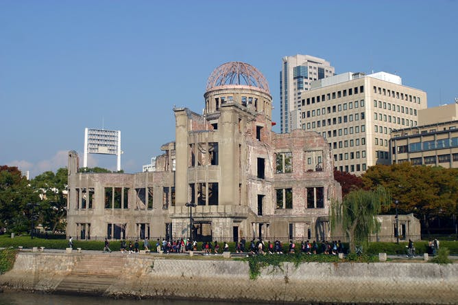 hiroshima essay atomic amnesia why hiroshima narratives remain few  atomic amnesia why hiroshima narratives remain few and far between the hiroshima peace memorial in hiroshima