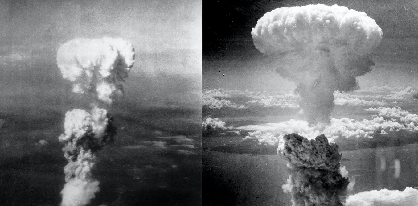 the atomic bomb dropped in hiroshima and nagasaki during the world war ii