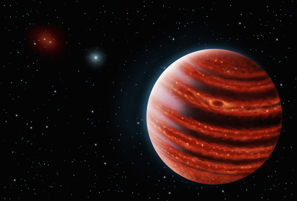 Teenage' Jupiter may hold the secret of how planets form