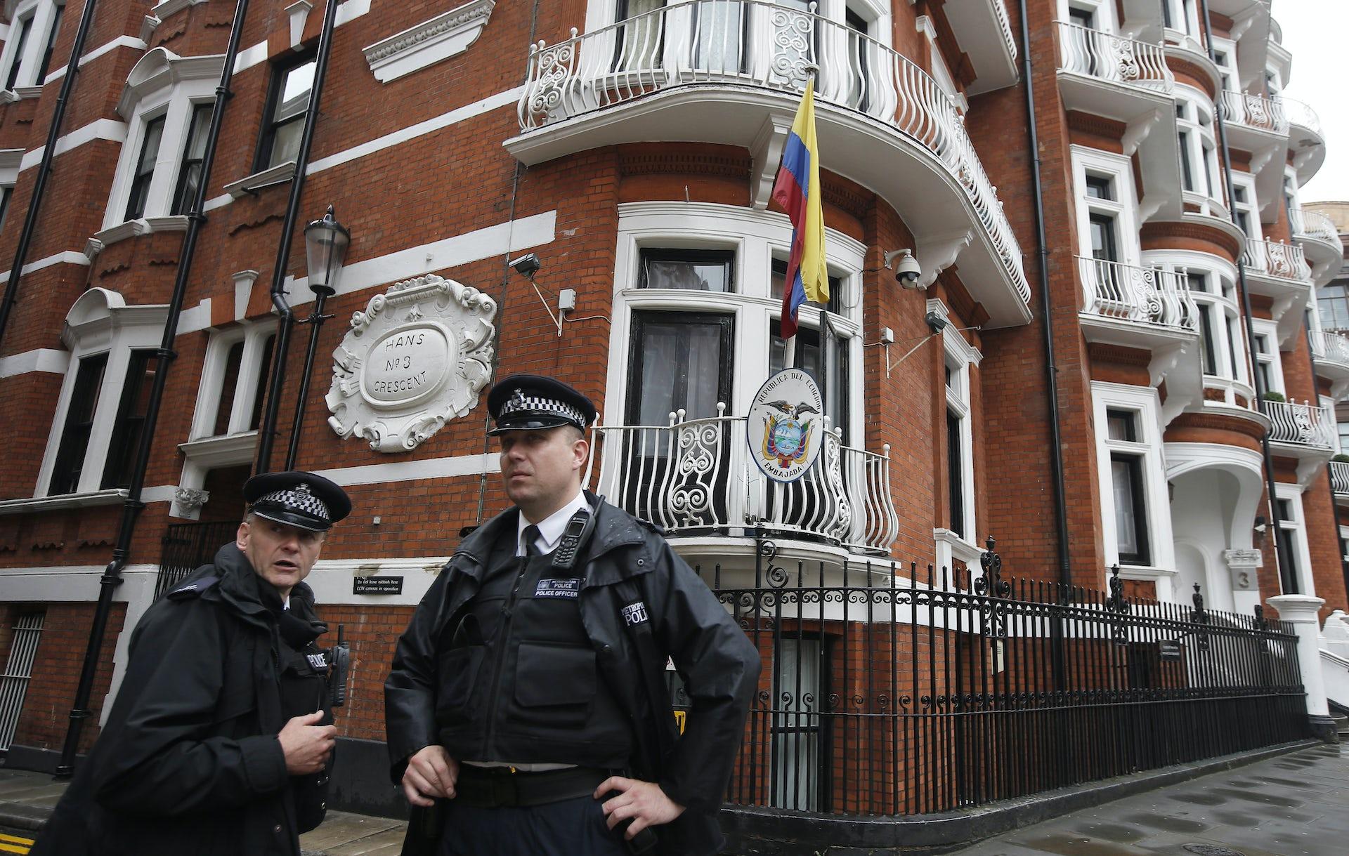 Image result for assange sit in outside ecuador