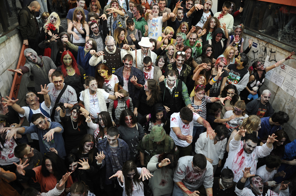 our endless appetite for zombies is because we u0026 39 re looking