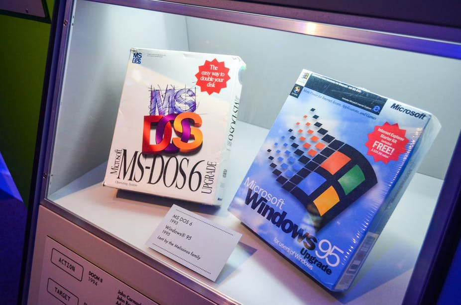 Windows 95 turns 20 – and new ways of interacting show up