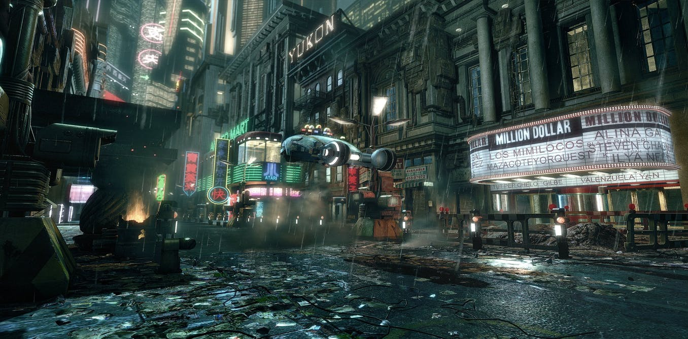 the science and fiction behind blade runner