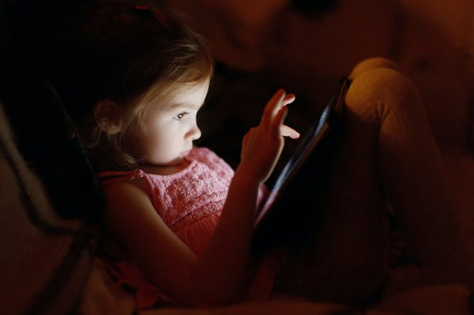 Electronic Devices Intrude On Time For Sleep