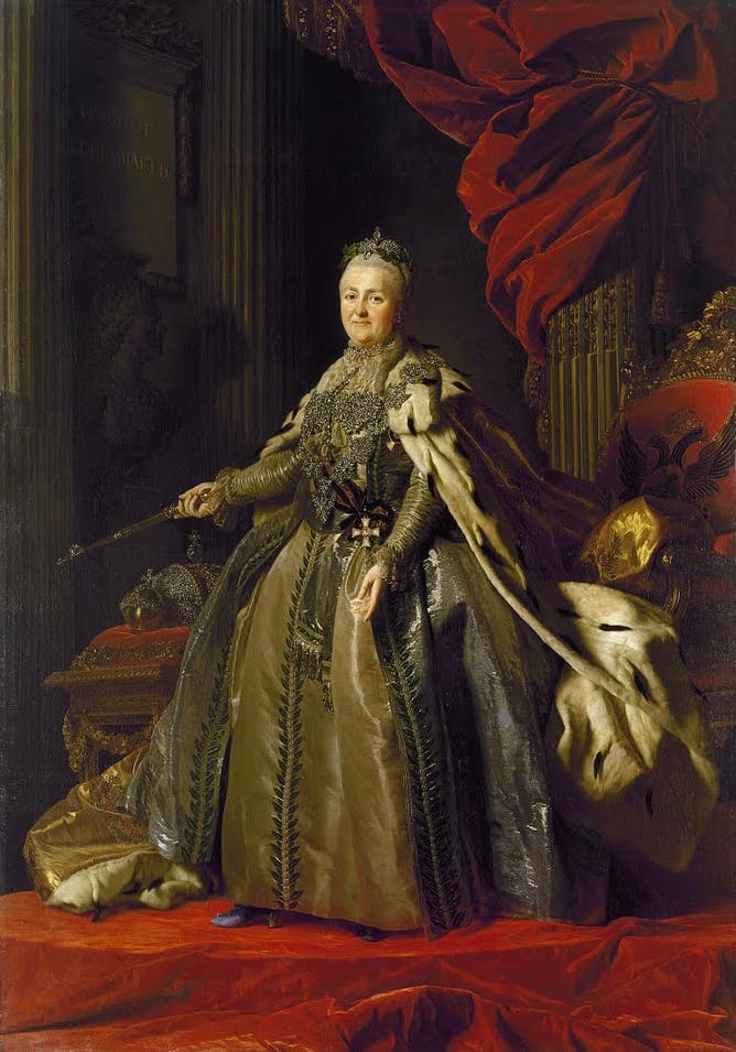 why catherine the great s greatness doesn t grate
