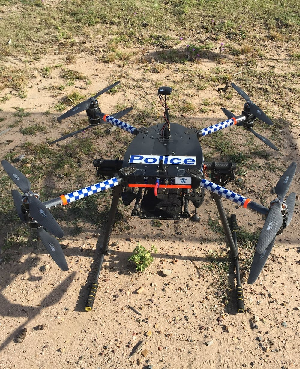 Police militarisation takes off with weaponised crowd-control drones