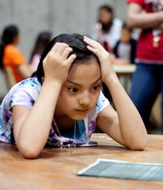 Anxiety And Homework Helping Your Child >> When Parents With High Math Anxiety Help With Homework Children