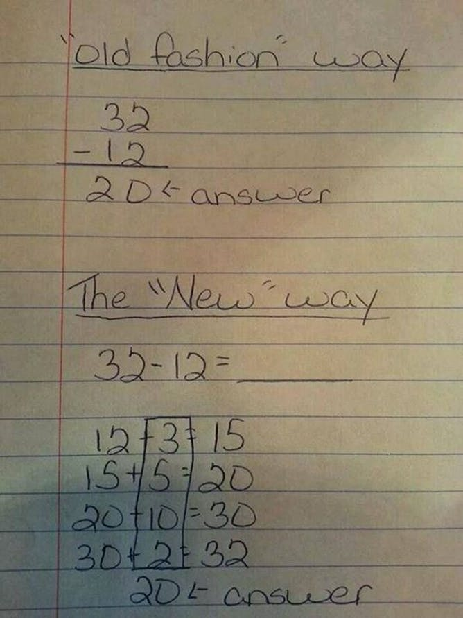 The Common Core is today's New Math – which is actually a good thing
