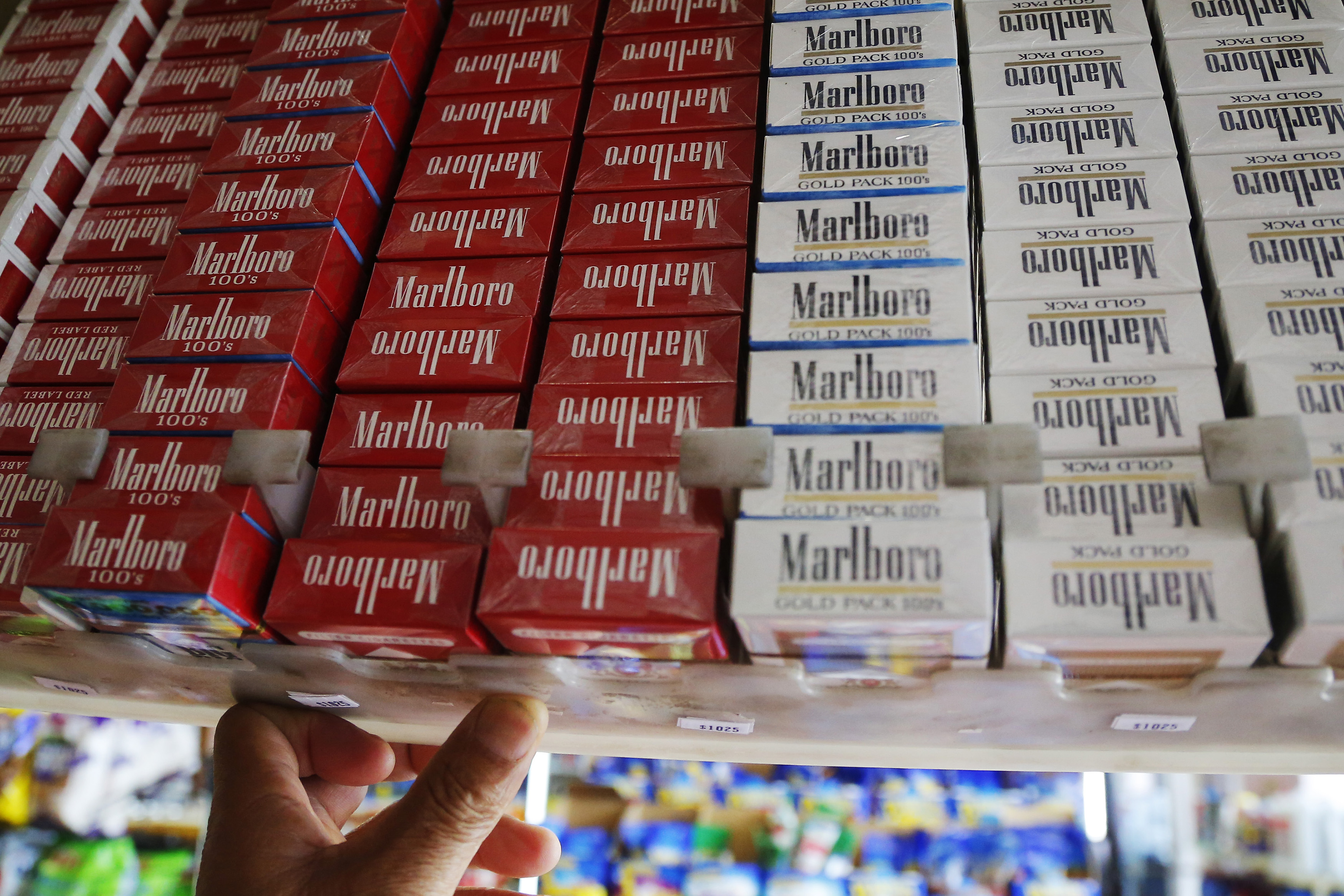 All the different cigarettes Marlboro