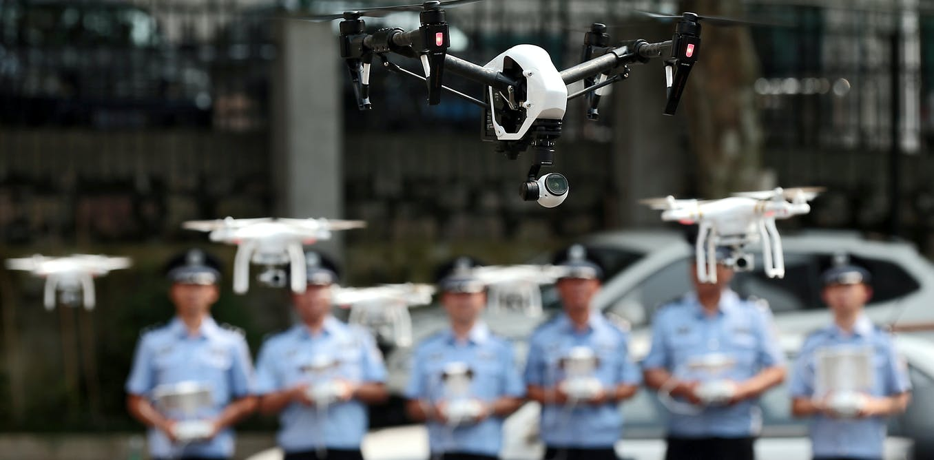 the societal issues of using drones