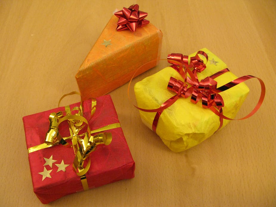 Ethics of accepting suppliers' gifts in the business v