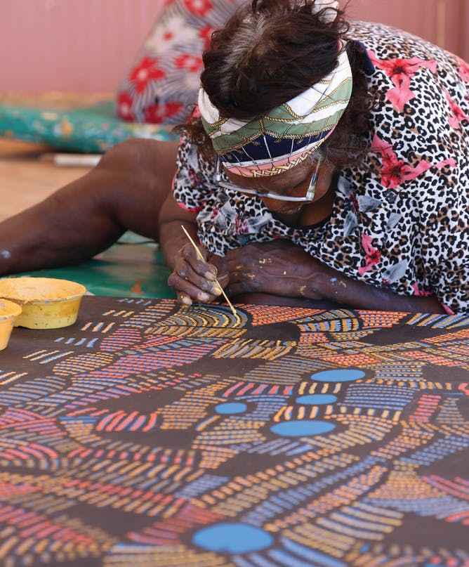 streets of papunya delivers an artistic renaissance worth