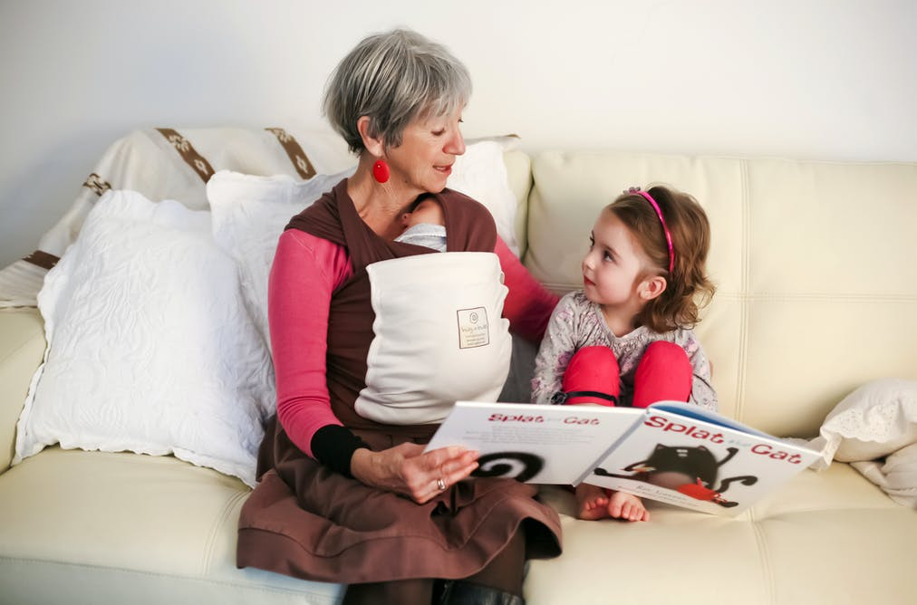 Rising numbers of children are brought up by grandparents or other
