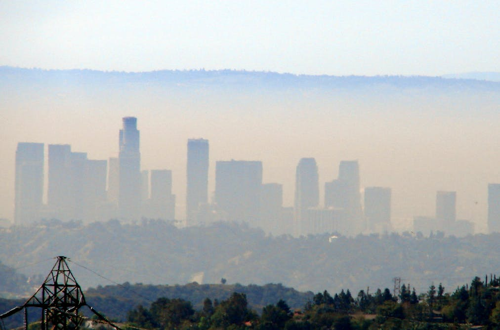 air pollution in the los angeles Air quality has improved throughout the los angeles basin but the study also shows that air pollution and growth can coexist over the long term.