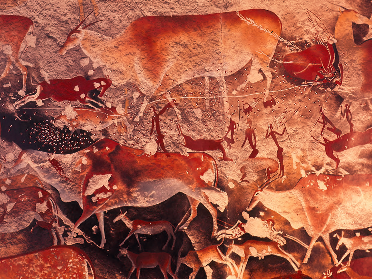 An Enigmatic Theme In San Rock Paintings Is Finally Unlocked