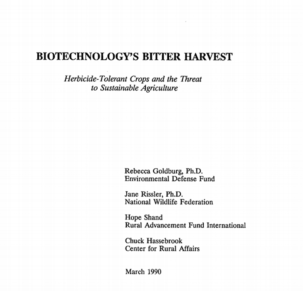 How We Got To Now Why The Us And Europe Went Different Ways On Gmos