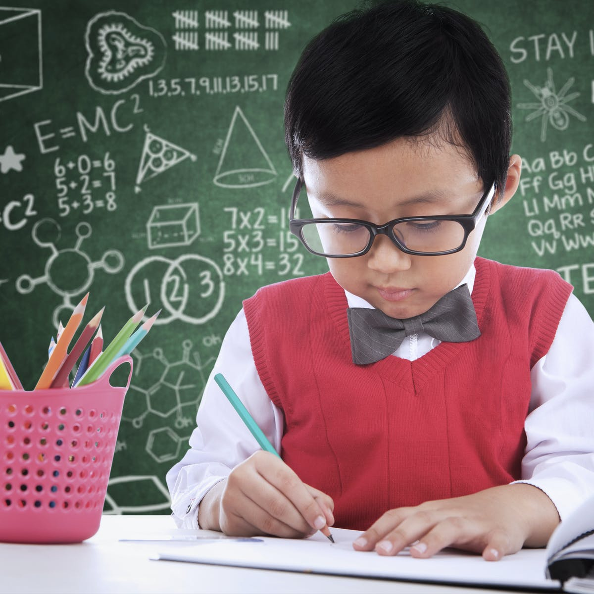 What is the secret to being good at maths?