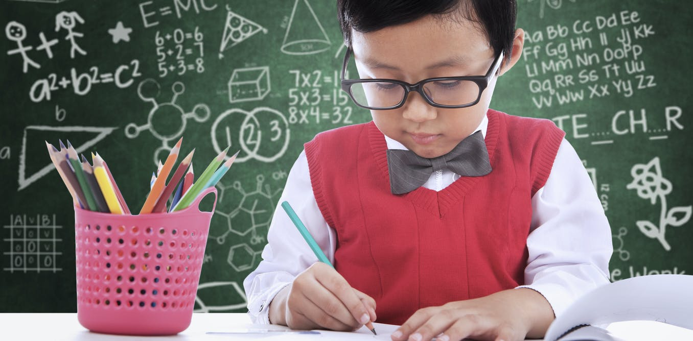 What is the secret to being good at maths 2
